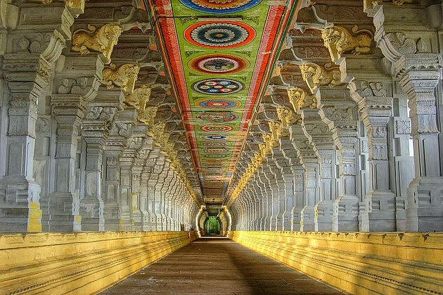 Rameswaram Ramanathaswamy Temple Tamilnadu
