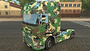 Army 2 DAF Euro 6