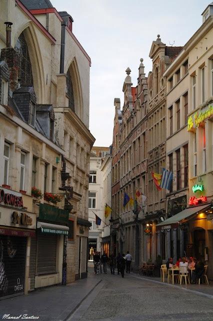 Bruxelles, nei pressi della Grand Place