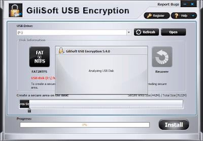 Cara Melindungi USB Flashdisk Anda Dengan Kata Sandi - Gillisoft