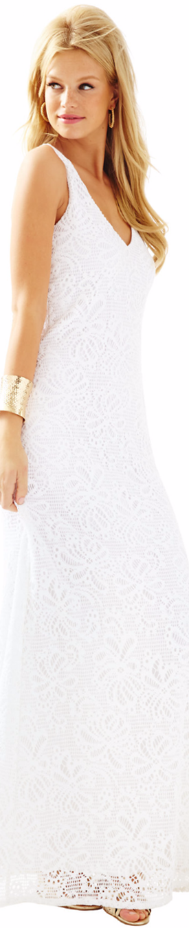 Lilly Pulitzer Aster Lace Maxi Dress