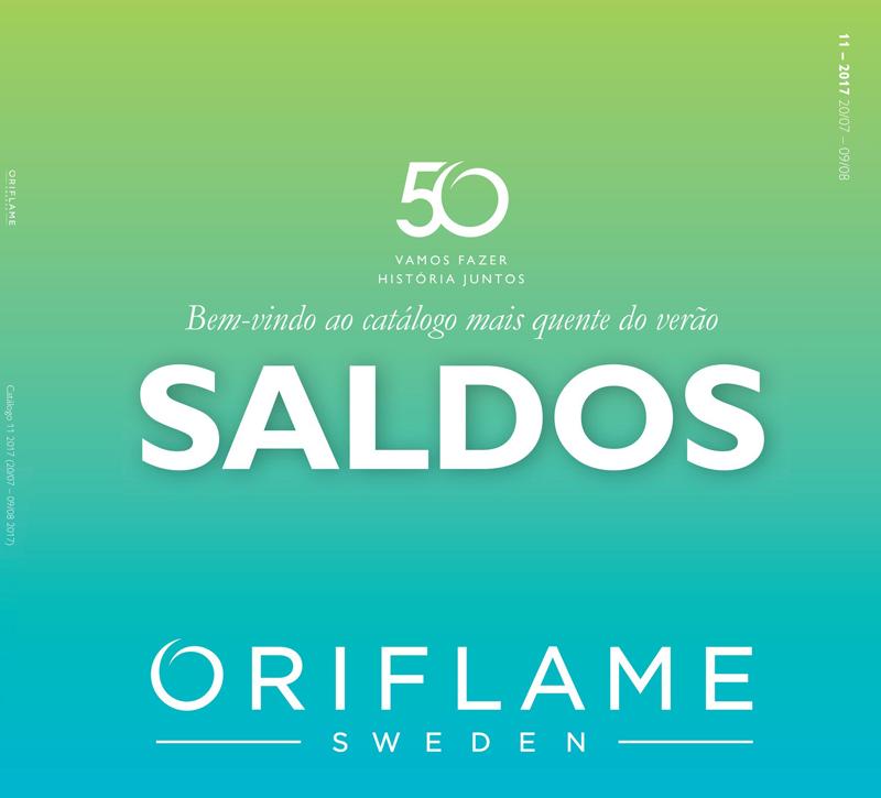 Catálogo 11 de 2017 da Oriflame