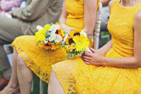 Should You Wear a Yellow Bridesmaid Dress For a Wedding