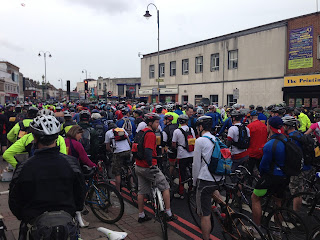 A Picture of the London to Brighton Bike Ride