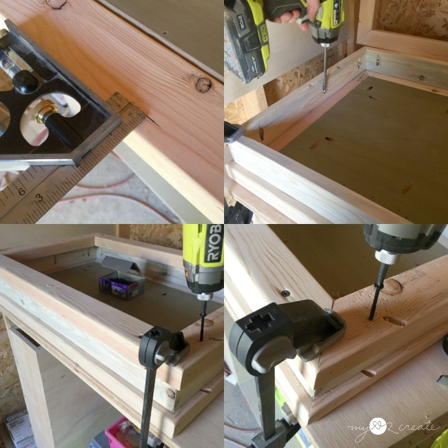 building a vanity top