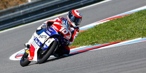 Alexis Masbou Menangi Moto3 Ceko
