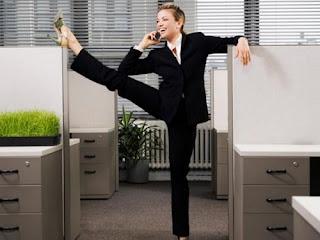 Силовая тренировка в офисе - не фантастика