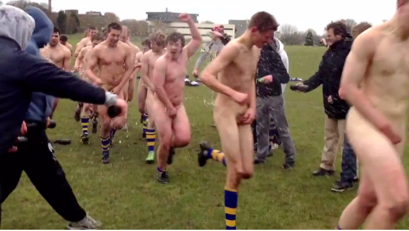 Runners harvard tufts student naked mile