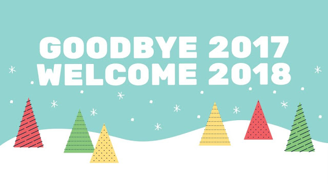 Welcome 2018 Good Bye 2017 Images