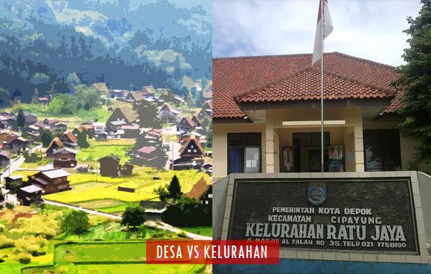 Perbedaan Desa dan Kelurahan secara Prinsip menurut Undang-Undang