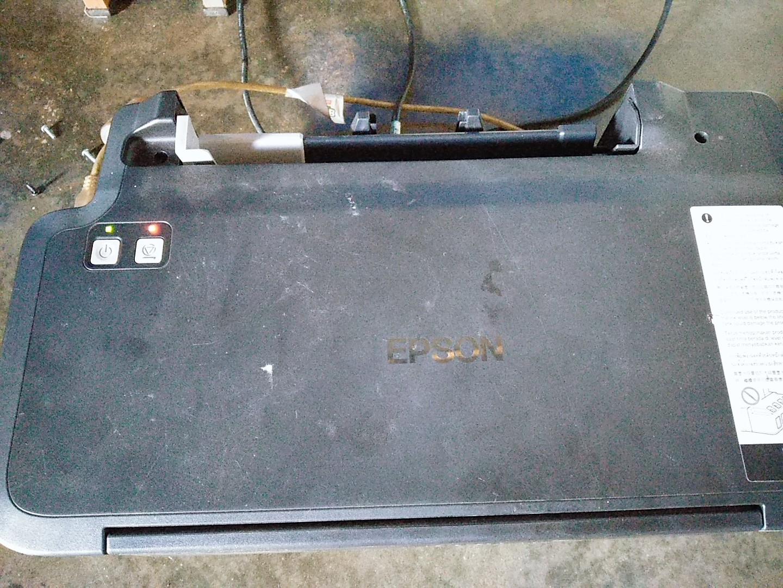 Epson L120 Indikator Power dan Tinta Resume Blink