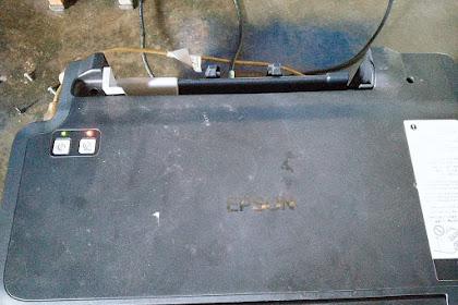 Memperbaiki Epson L120 eror Indikator Power dan Tinta Resume Blink Bersamaan