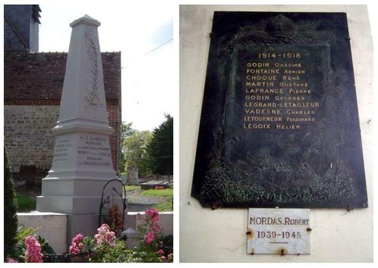 Monument aux Morts de Wambez