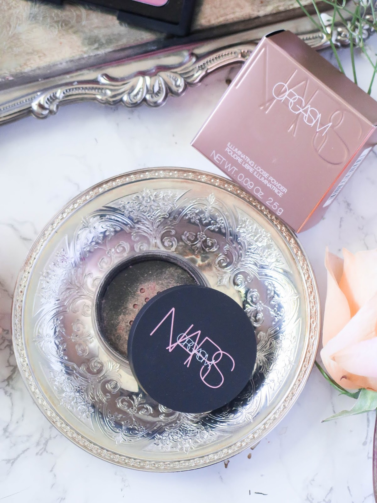 Next Level O   NARS Orgasm Revamp & Extension   Illuminating Powder & Afterglow Lip Balm   Review & Swatches   labellesirene.ca