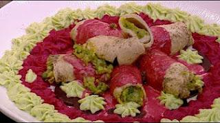 طريقة عمل صدور الديك الرومي مع صلصة البنجر مع الشيف شربيني في الشيف