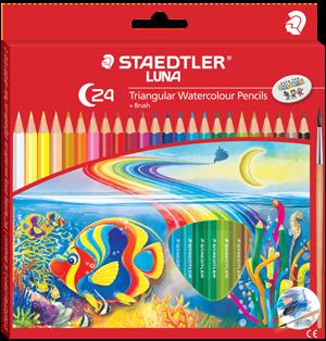 Staedtler terbaik untuk Luna Triangular coloured dan watercoloured