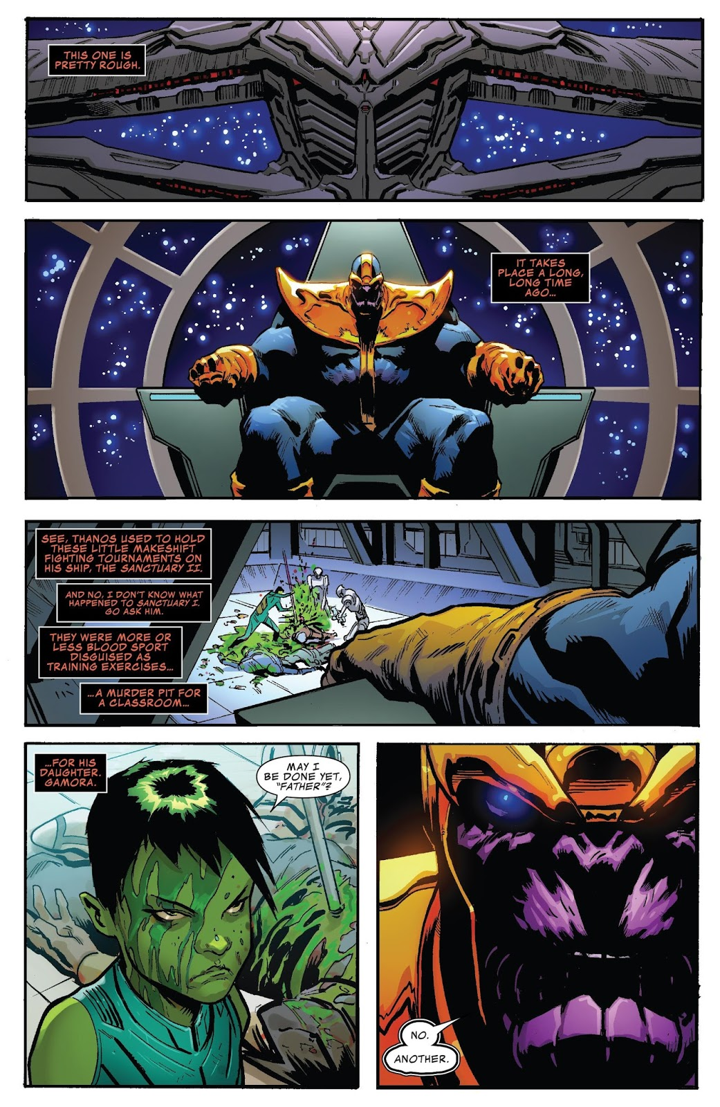 Weird Science DC Comics: Thanos Annual #1 Review - Marvel Monday