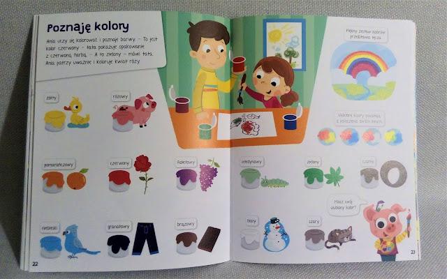 """""""Księga wiedzy małego dziecka"""" kolory aksjomat"""