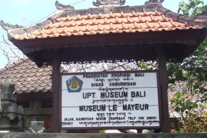 OBJEK WISATA MUSEUM LE MAYEUR SANUR DENPASAR BALI