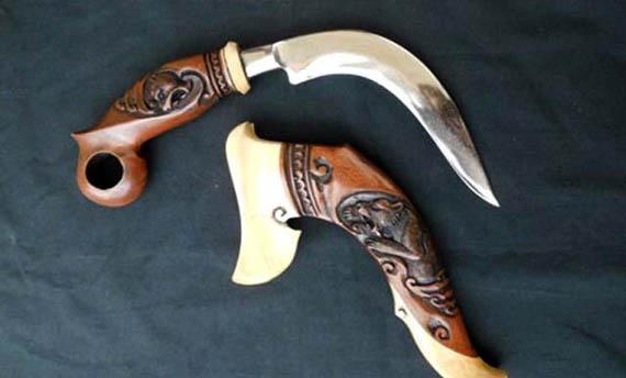 Senjata Tradisional Sumatera Selatan - Skin