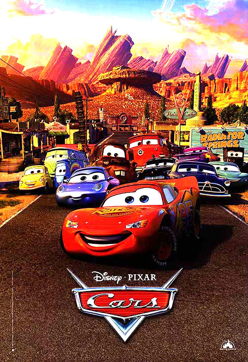 arnold peliculas cars 2006. Black Bedroom Furniture Sets. Home Design Ideas