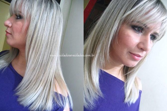 Como manter o cabelo platinado sem amarelar