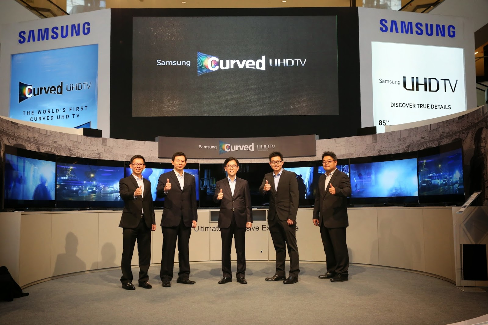 Samsung Unveiled World's First Curved Ultra High Definition (UHD) TV 6
