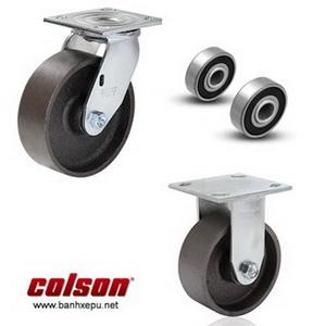 Bánh xe gang xám bánh xe đẩy chịu tải (410~450kg)