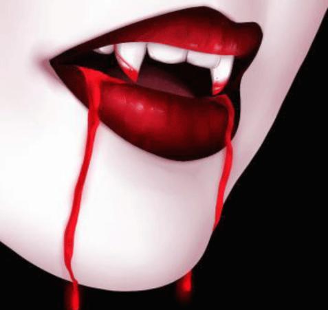 Life as a Teenage Vampire by Amy Mah (Vampire) 吸血鬼 : Blood ...