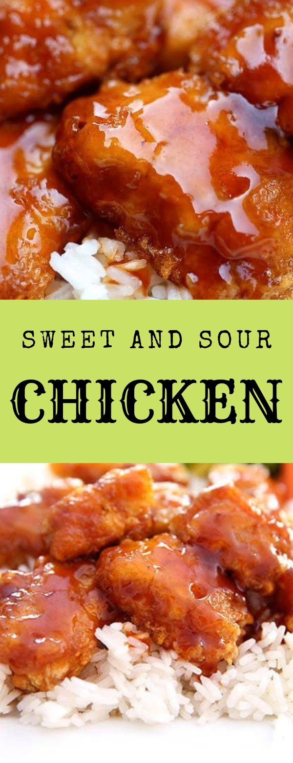 SWEET AND SOUR CHICKEN #CHICKEN #DINNER