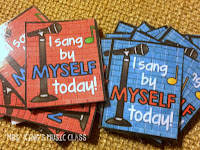 Learn to use Brag Tags in Music Class or any special area class.  Brag tags are an incredible student behavior incentive and can be used in older students as well as Kindergarten and other young learners.  You'll find ideas for using these printable sanity savers even if you only see your students once a week.