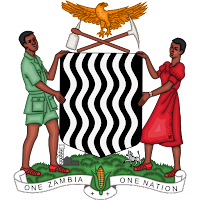Logo Gambar Lambang Simbol Negara Zambia PNG JPG ukuran 200 px