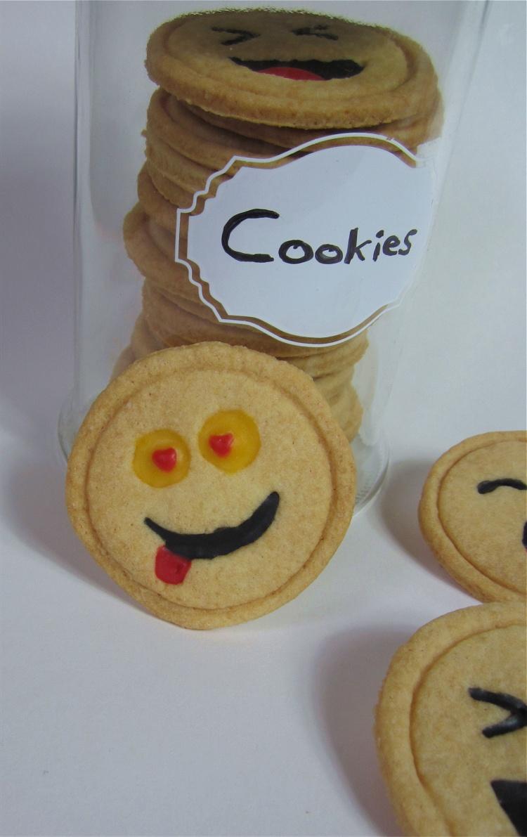Smilie-Cookies 2