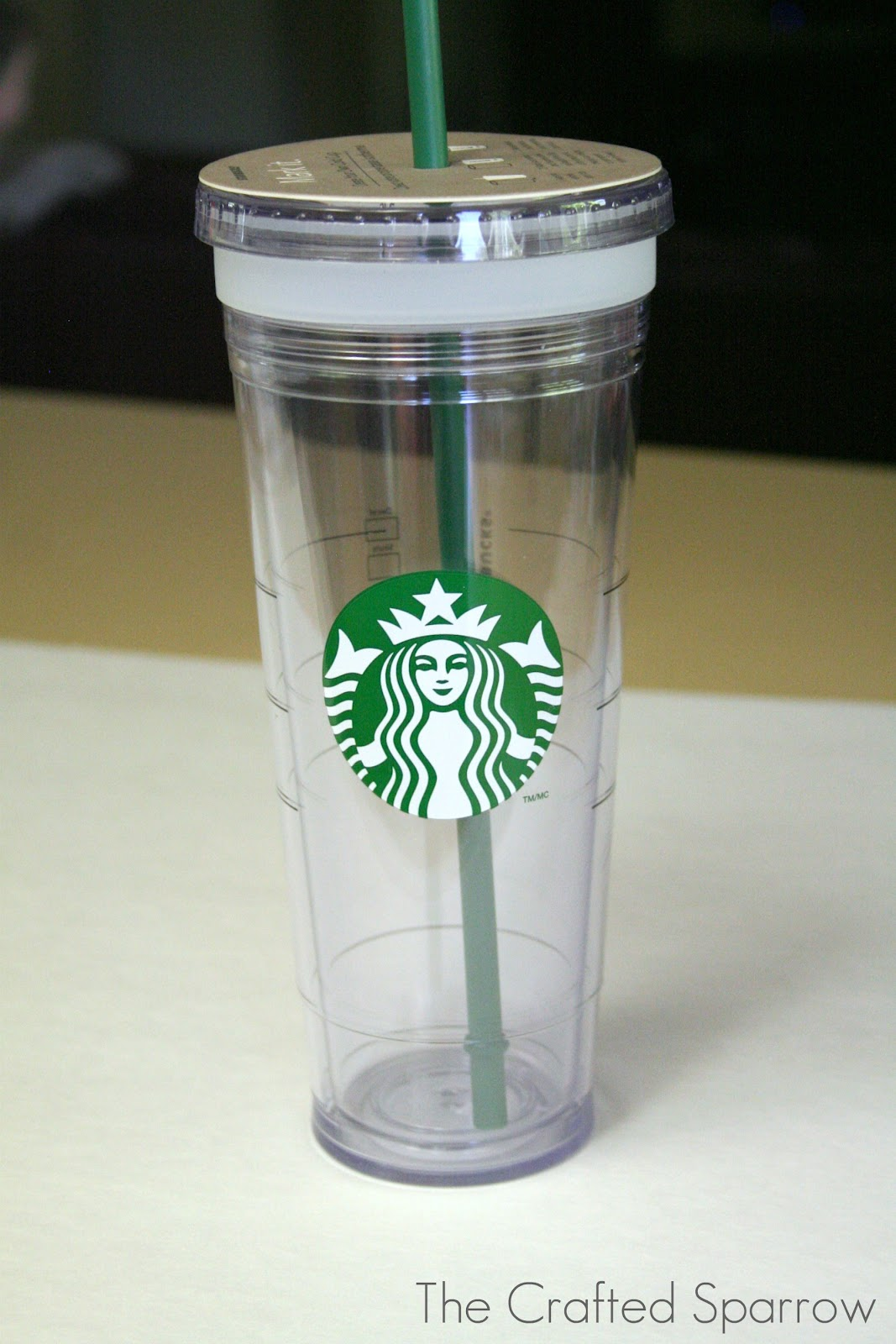 starbucks personalized tumbler template - diy glittered starbucks tumbler the crafted sparrow