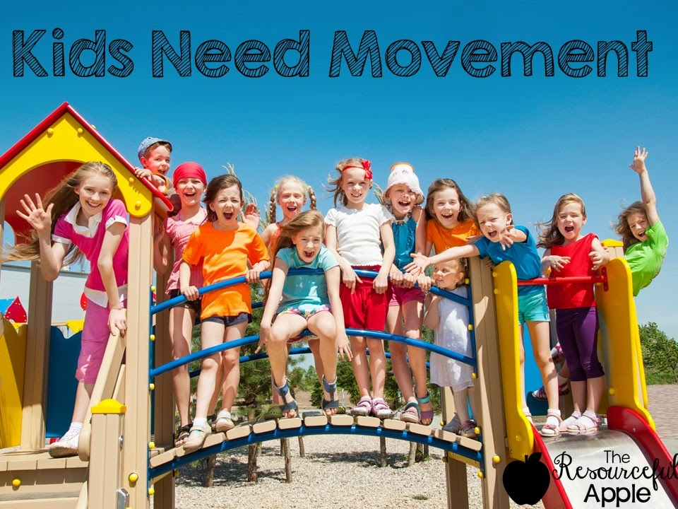 Why So Many Kids Cant Sit Still In >> The Resourceful Apple Kids Need Movement