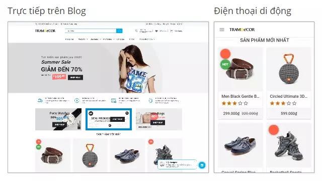 Theme blogspot bán hàngđẹp chuẩn seo tải nhanh