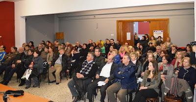 Μεγάλη η προσέλευση στην ημερίδα του Εργατικού Κέντρου Κατερίνης για τα Εργασιακά υπό το πρίσμα της TTIP