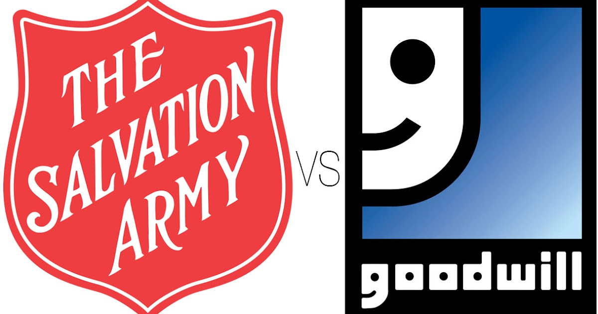 Salvation Army Vs Goodwill