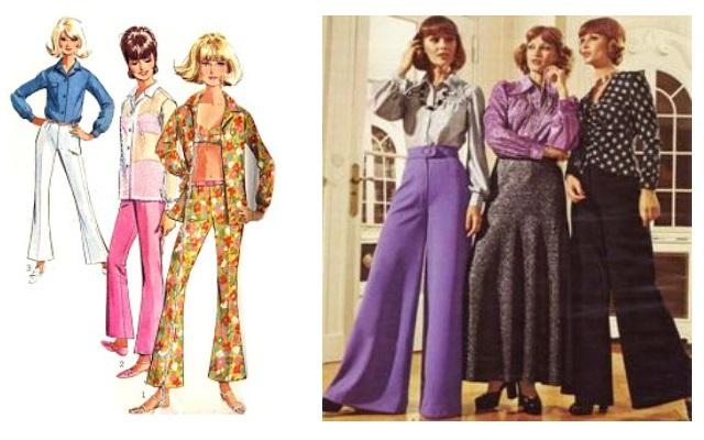73058c6788da Το παντελόνι στις δεκαετίες  60 και  70