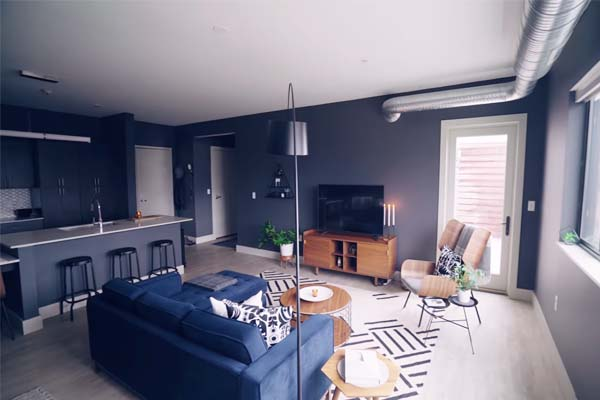 Modern Living Room Colours Options
