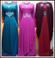 Model Baju Gamis Pesta Terbaru 2013