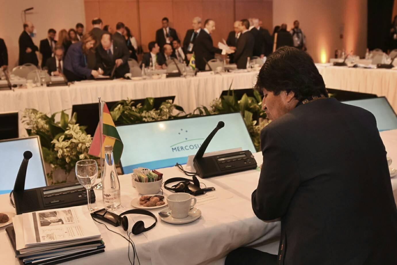 Bolivia se encuentra en proceso de adhesión como miembro pleno del Mercosur desde 2015