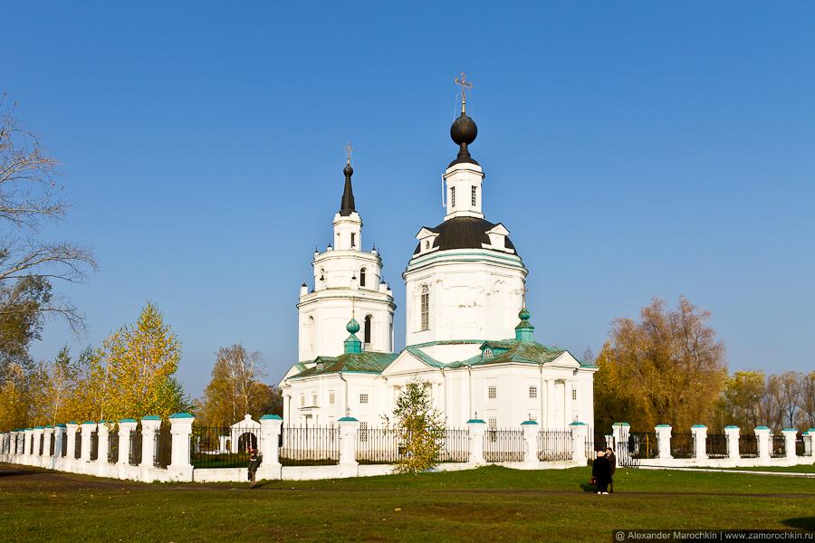 Церковь Успения Пресвятой Богородицы в Большом Болдине