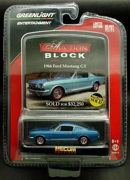 Diecast Hobbist Greenlight Auction Block Series 13
