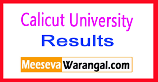 Calicut University Results 2017