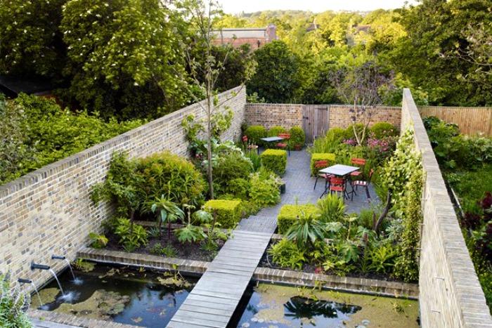 El peque o jard n urbano de la paisajista jinny blom for El jardin urbano