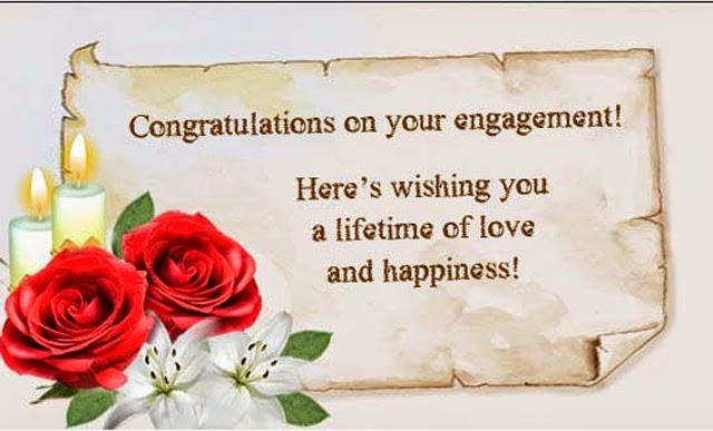 Engagement Greetings Cards, Best Messages Photo's ...