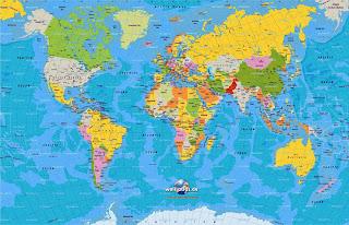 Mapa Mundi   MapasBlog