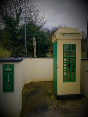 Irish Telephone Box, Grange.