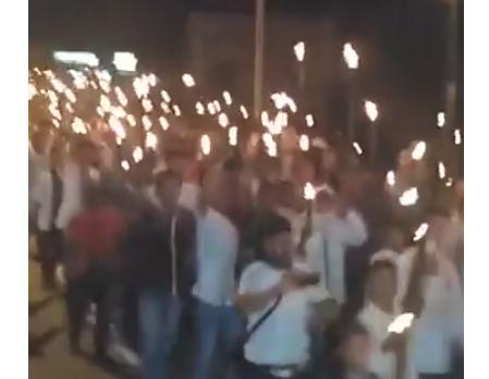Merinding! Aksi Sejuta Obor Muslim Poso Mendukung Ulama